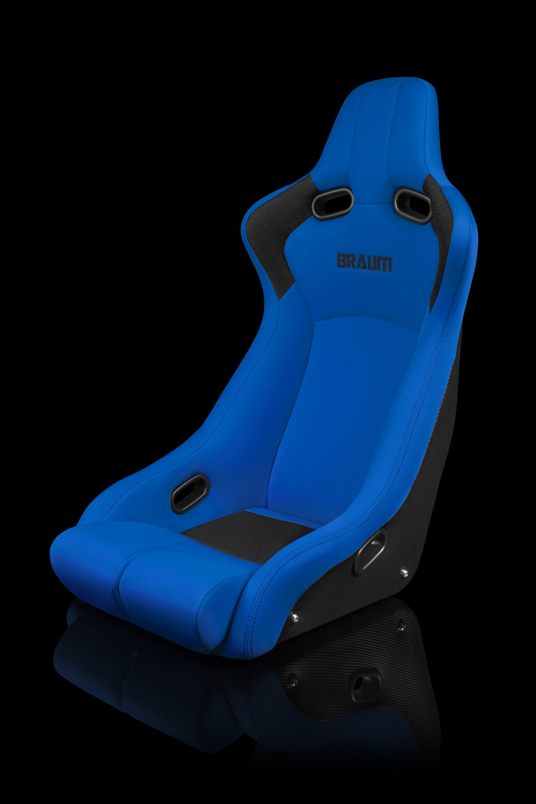 Venom R Fixed Back Bucket Seat Blue