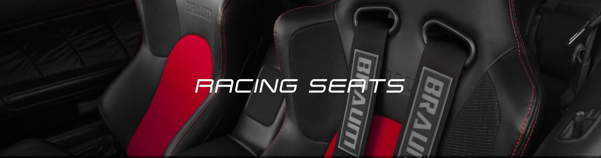 BRAUM Universal Racing Seats - Header