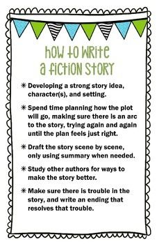 Creative writing character outline